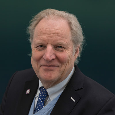Fractievoorzitter Andreas van der Schaaf (50PLUS)