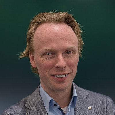 Fractievoorzitter Jelmer Kruyt (Goois Democratisch Platform)